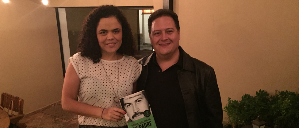 Qué hacía Mariana Gómez del Campo con el hijo de Pablo Escobar