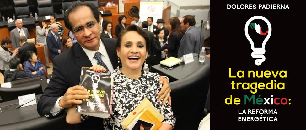 Dolores Padierna presenta libro junto a su familia