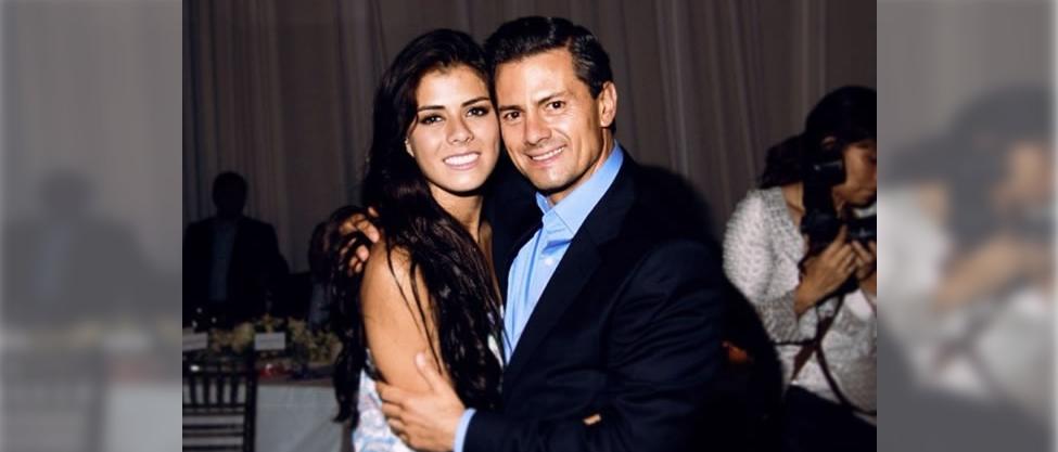 Enrique Peña celebra a su hija Paulina
