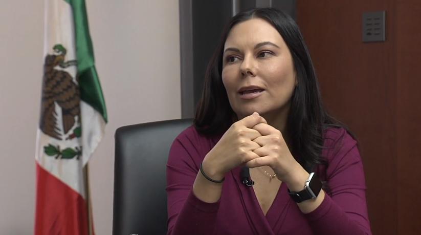 Laura Rojas habla sobre la polémica de que México envíe sus tropas al extranjero