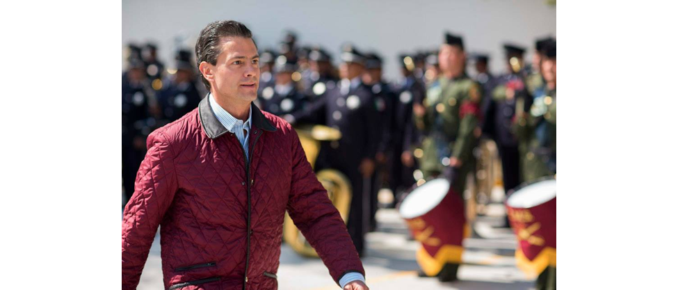 La chamarra favorita de Enrique Peña Nieto