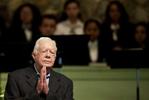 Jimmy Carter se libera del cáncer en el cerebro