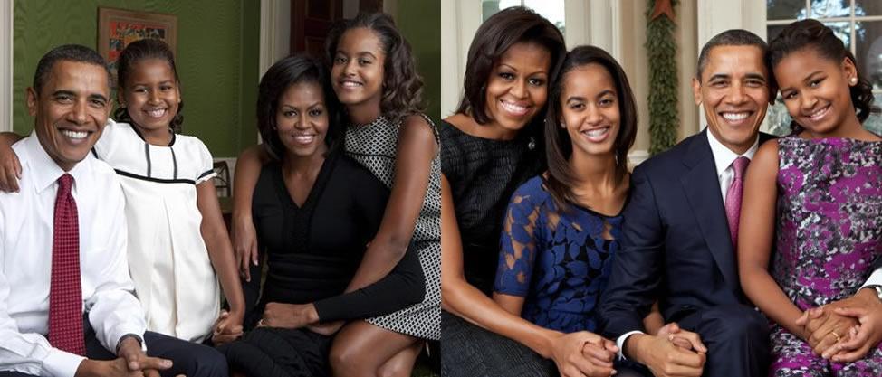 Barack Obama, un papá alejado de Malia y Sasha