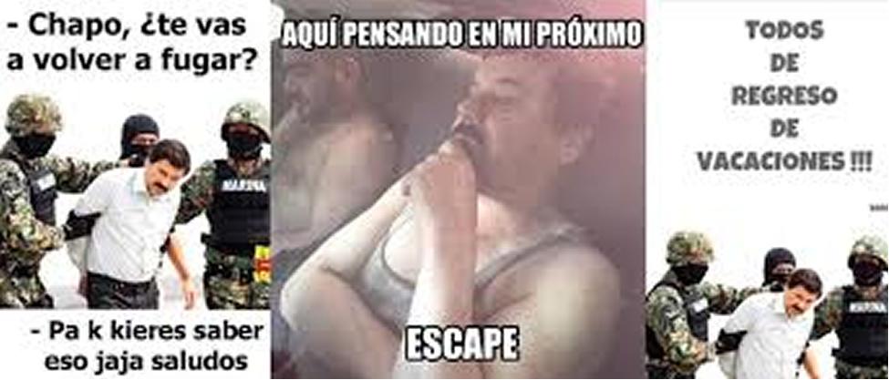 """Los memes de la tercera captura de """"El Chapo"""""""
