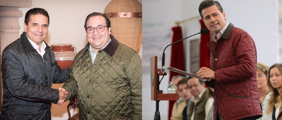 Gobernadores copian la chamarra favorita de Peña Nieto