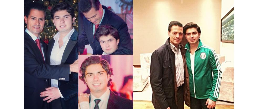 Enrique Peña Nieto celebra los 18 años de su hijo
