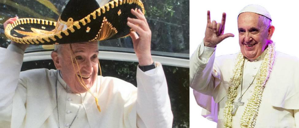 Las rolas para el Papa