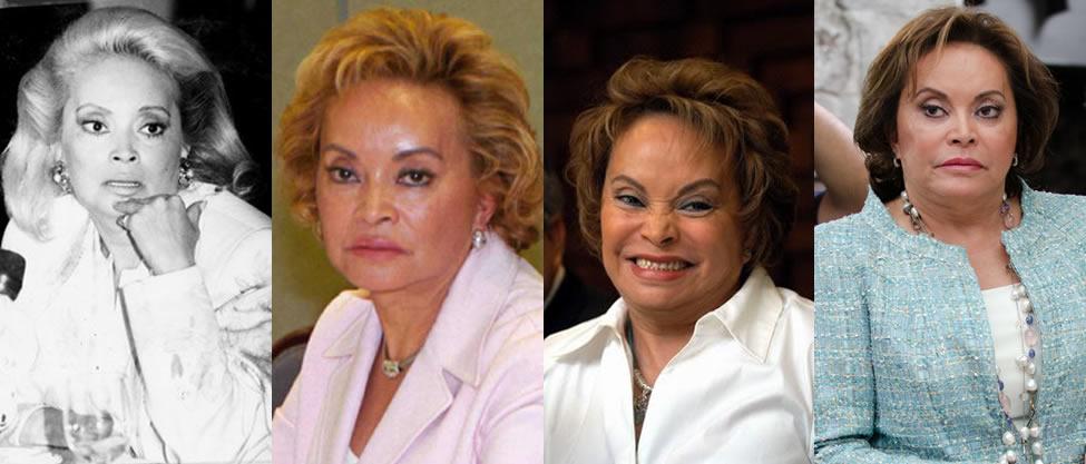 Las otras caras de Elba Esther Gordillo [FOTOS]