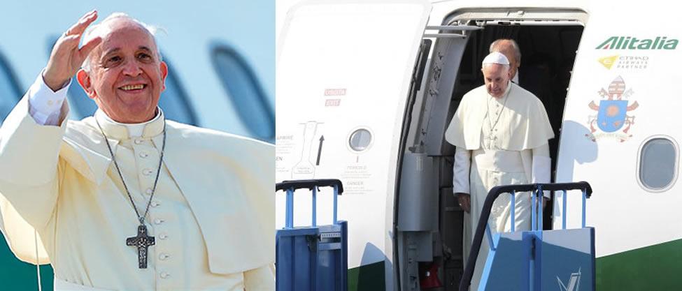 Protocolo para estar frente al Papa