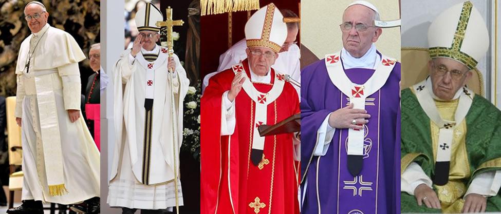 Qué significa la vestimenta del Papa