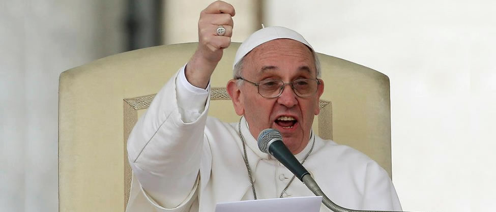 10 frases polémicas bajo la sotana del Papa