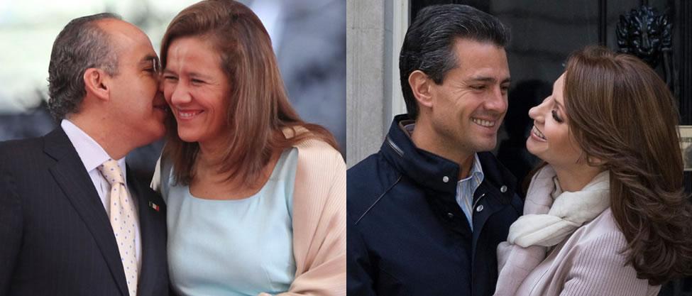 Las parejas más destacadas de la política
