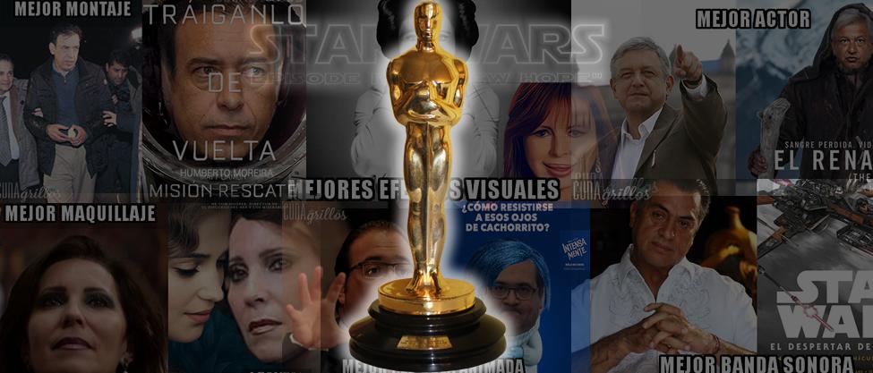 Los premios Oscar de Cuna de Grillos