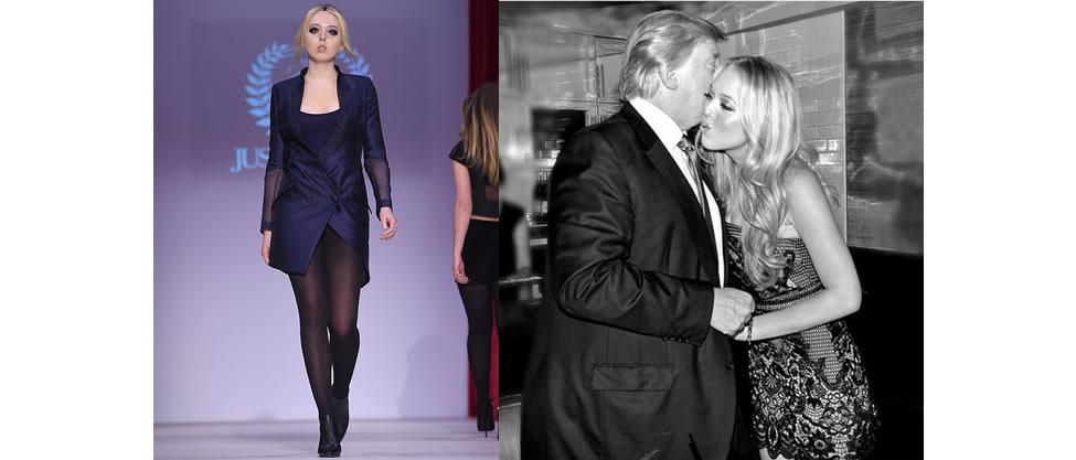 La hija de Donald Trump debuta en pasarela