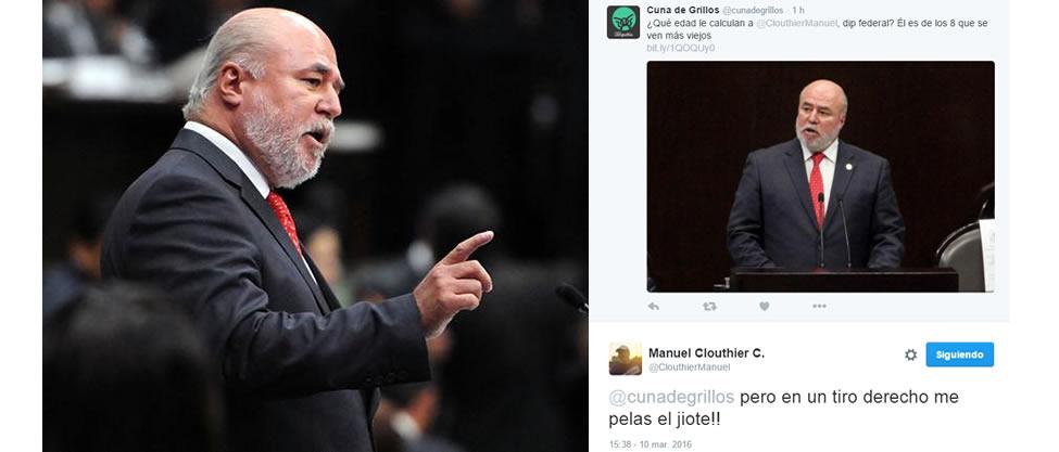 Manuel Clouthier responde sobre su edad