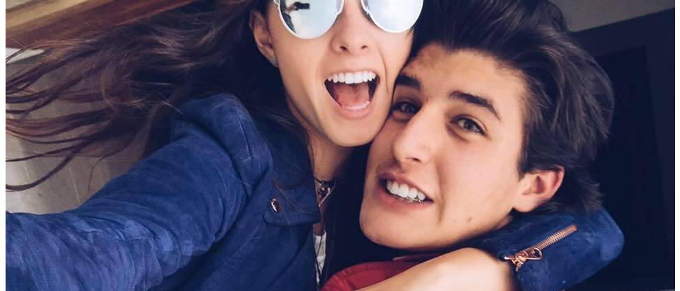 Nicole Peña y Santiago Villar presumen su noviazgo