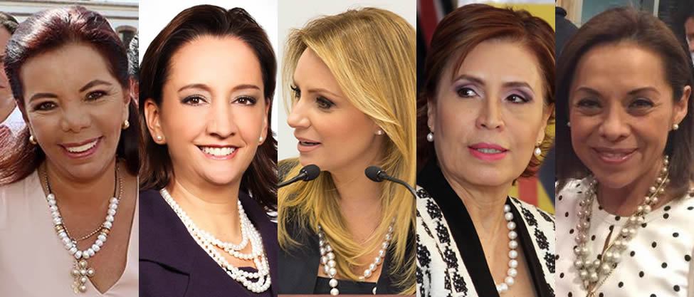 Las integrantes del Club de la Perlita