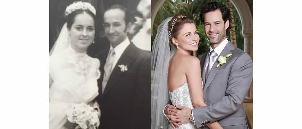 5 comparaciones de las bodas de Carlos y Emiliano Salinas