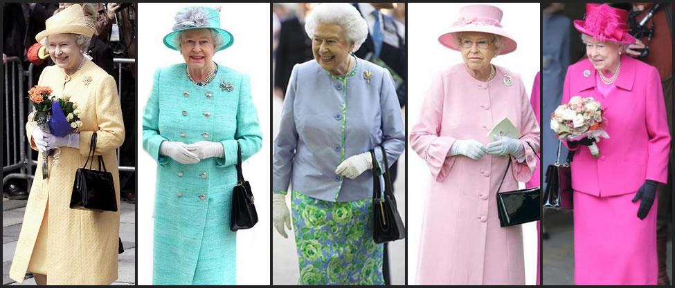 Los looks de la Reina Isabel
