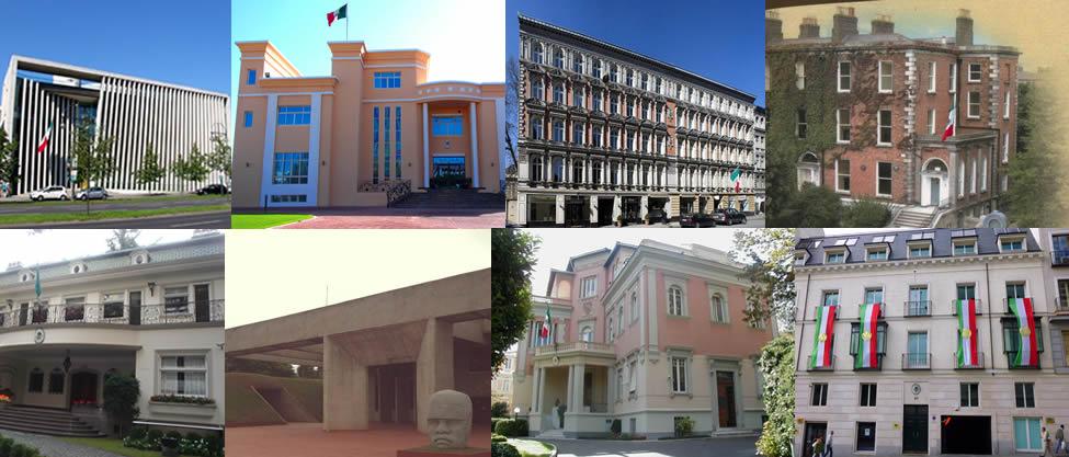 Las 13 embajadas más chic de México en el mundo