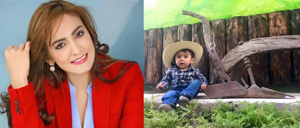 El hijo de Iris Vianey Mendoza se hace mayor