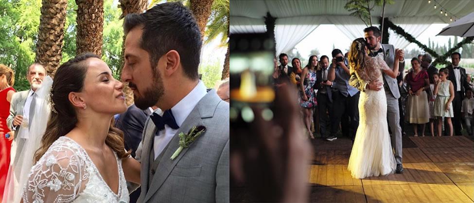 Detalles de la boda de Carlos Zedillo