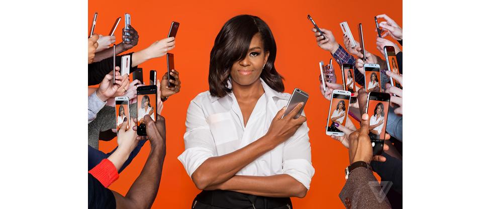 Michelle Obama: La primera dama de los medios